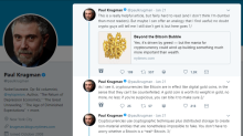 Op Ed: Here's What Paul Krugman Got Wrong in His Bitcoin Tweetstorm