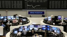 Global stocks jump on report Brexit deal may be close, oil slips