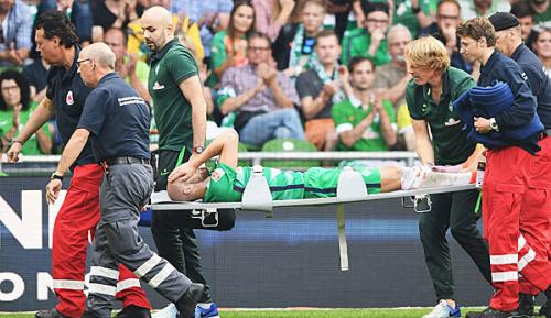 Bundesliga: Mittelfußbruch: Saisonaus für Werders Caldirola