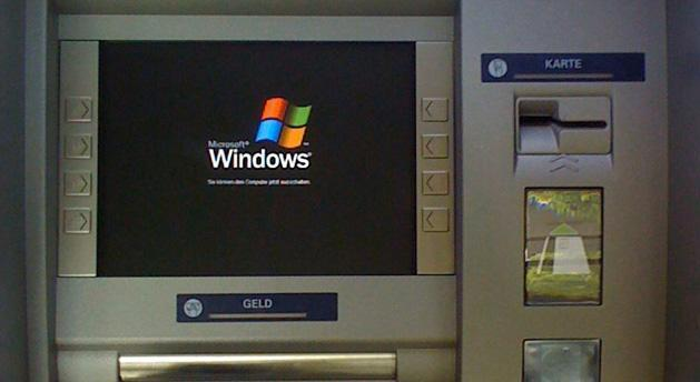 Your bank will pay Microsoft to keep running its ATMs