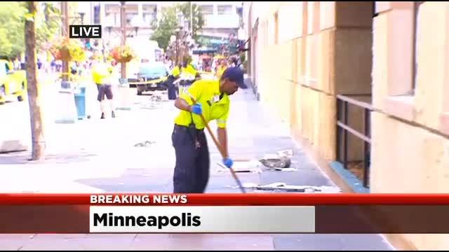 Metro Transit Bus Barrels Out Of Control In DT Mpls.