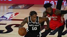 Spurs rout Rockets to keep hopes for 23rd straight NBA playoff appearance alive