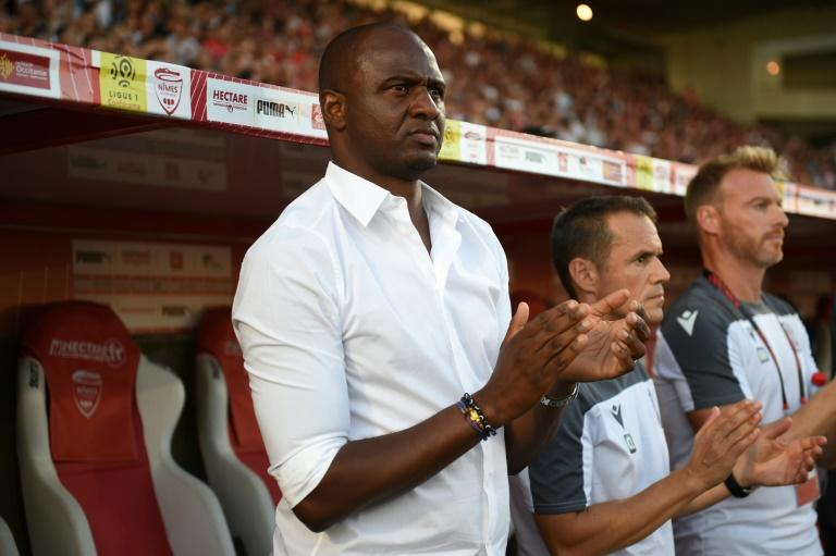 Nice coach Patrick Vieira is hoping to see several new signings arrive at the club now a takeover by British billionaire Jim Ratcliffe is all but complete (AFP Photo/SYLVAIN THOMAS)