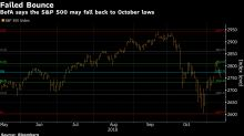 S&P 500 May Test October Lows as Bounce Fails Again, BofA Says