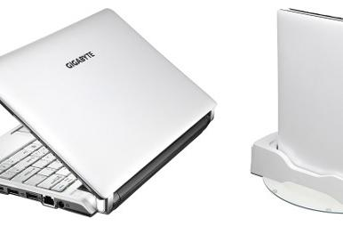 Gigabyte posts specs for ThinNote S1024 and Booktop M1022