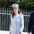 Kate Middleton Stuns in Baby Blue at Easter Service on Queen's Birthday