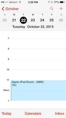 AllThingsD reports October 22 Apple event