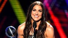 Alex Morgan Hilariously Puts Her ESPY Award In Perspective