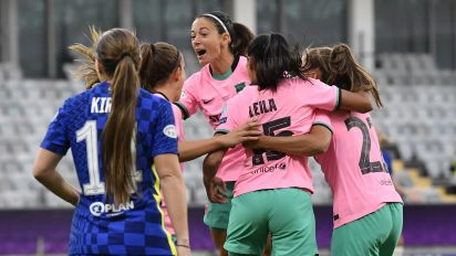 Barcelona overwhelms Chelsea for UWCL title