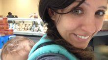 Breastfeeding mom banished to gym bathroom shares reason: 'A man walked by'
