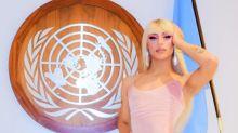 Pabllo Vittar canta na ONU em homenagem à Rainha Elizabeth