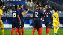 Foot - Amical - Les Bleus se baladent contre l'Ukraine, Giroud dépasse Platini
