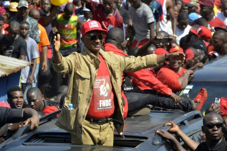 Guinean opposition leader announces presidential bid