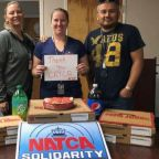 Canadian air traffic controllers sending support in the form of pizzas to US counterparts during government shutdown