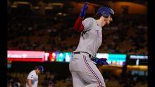 MLB roundup: Rangers hammer Trevor Bauer, Dodgers 12-1