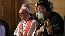 Pope lifts spirits of Egypt's persecuted Christians