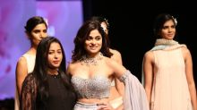 LMIFWSS20: Shamita Shetty's Outfit And Look Fails To Wow Us