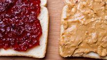 Britânicos estão substituindo a geleia pela pasta de amendoim no café da manhã