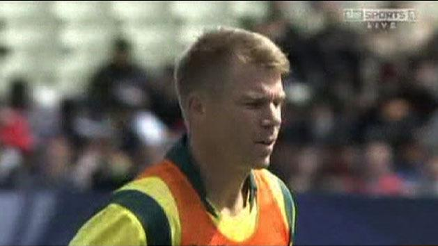 Warner to face hearing over fight
