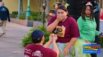 Newly Engaged Couple Photobombed in Proposal Picture