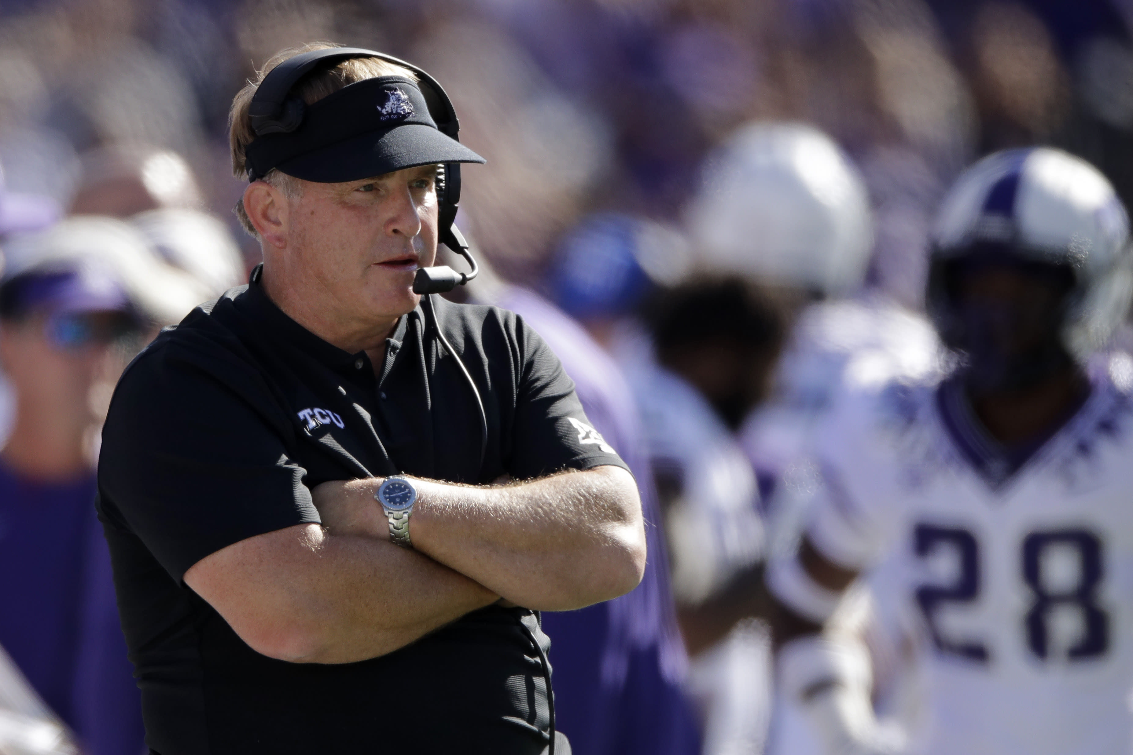 TCU's Patterson sorry for repeating racial slur to player