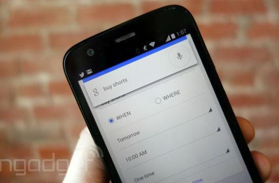 Google voice search adds car rentals and reminders that work like they should