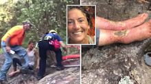 'Unbelievable': Hiker found alive two weeks after going missing in forest