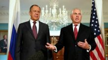 Russia's Lavrov, U.S. Secretary of State Tillerson discuss Syrian conflict