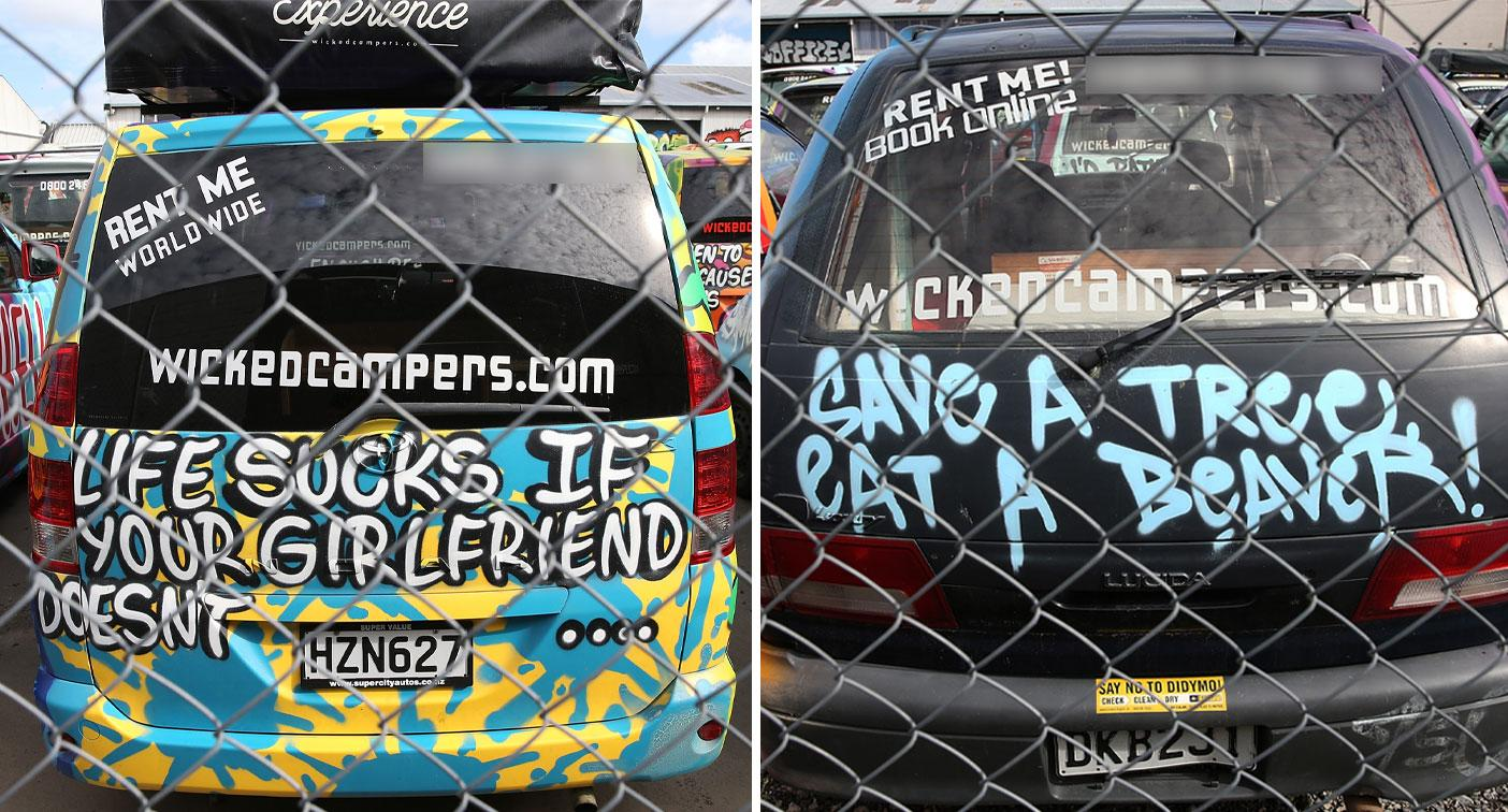 Victoria moves to crack down on 'misogynistic' Wicked Campers slogans