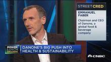 Danone's big push into health, sustainability