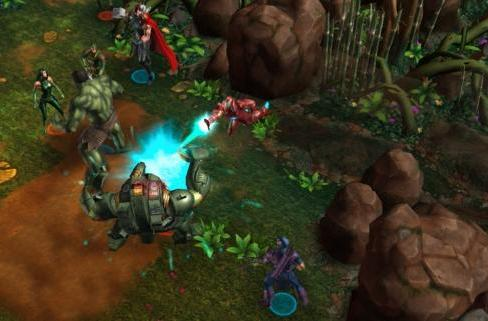 Marvel returns to Facebook in Avengers Alliance Tactics