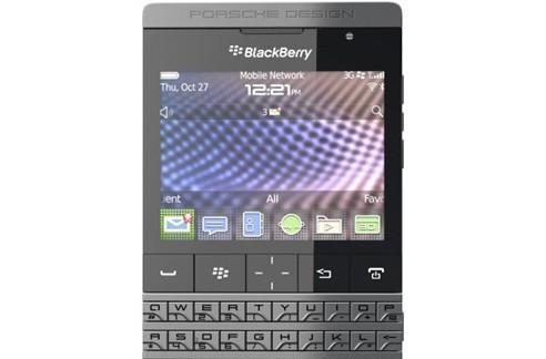 Harrods reportedly nabs Porsche Design P'9981 BlackBerry as UK exclusive, costs a princely £1,275