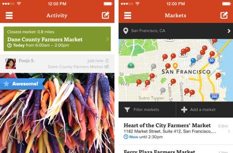 Daily App: Farmstand is your guide to your local farmer's markets
