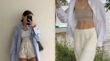 從博主身上偷靈感:一件衣櫃必備的基本襯衫,要怎麼搭出毫不費力的時髦感?