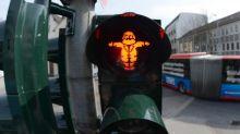 A Trèves, en Allemagne, c'est Karl Marx qui assure la circulation des piétons