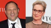 Meryl Streep enfadada con Weinstein por usarla como defensa en su juicio