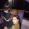 Pregnant Kim Kardashian And Kanye West Celebrate Independence Day With North