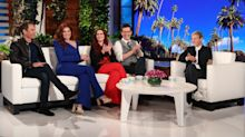 'Will & Grace' Stars Share Their Preshow Rituals With Ellen DeGeneres