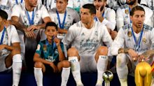 Ronaldo says 'competitive' son has every chance of following in his footsteps