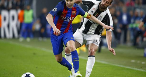 Foot - C1 - Barça - Andrés Iniesta (FC Barcelone) : «Marquer et concéder peu d'occasions»
