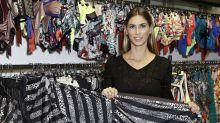 Melissa Satta diventa stilista con la linea di beachwear Changit