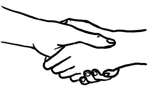Scientists formalize perfect handshake; world peace on track for 2012