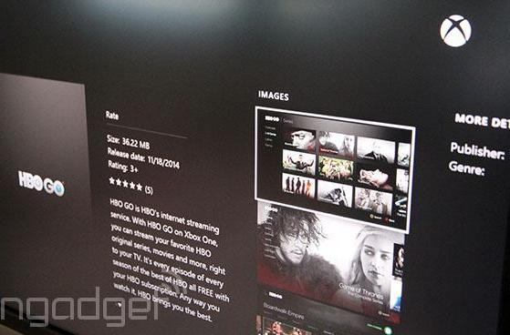 HBO Go is now available for Xbox One