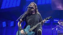 Dave Grohl invites blind fan on stage during Foo Fighters show