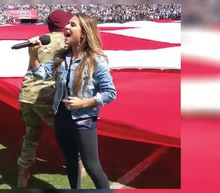 Jessie James Decker says NFL husband was tricked into national anthem protest