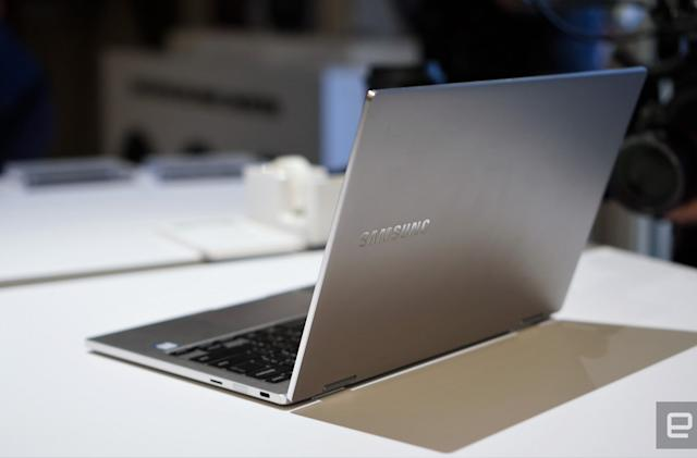 Samsung's Notebook 9 Pro convertible gets a lot more stylish