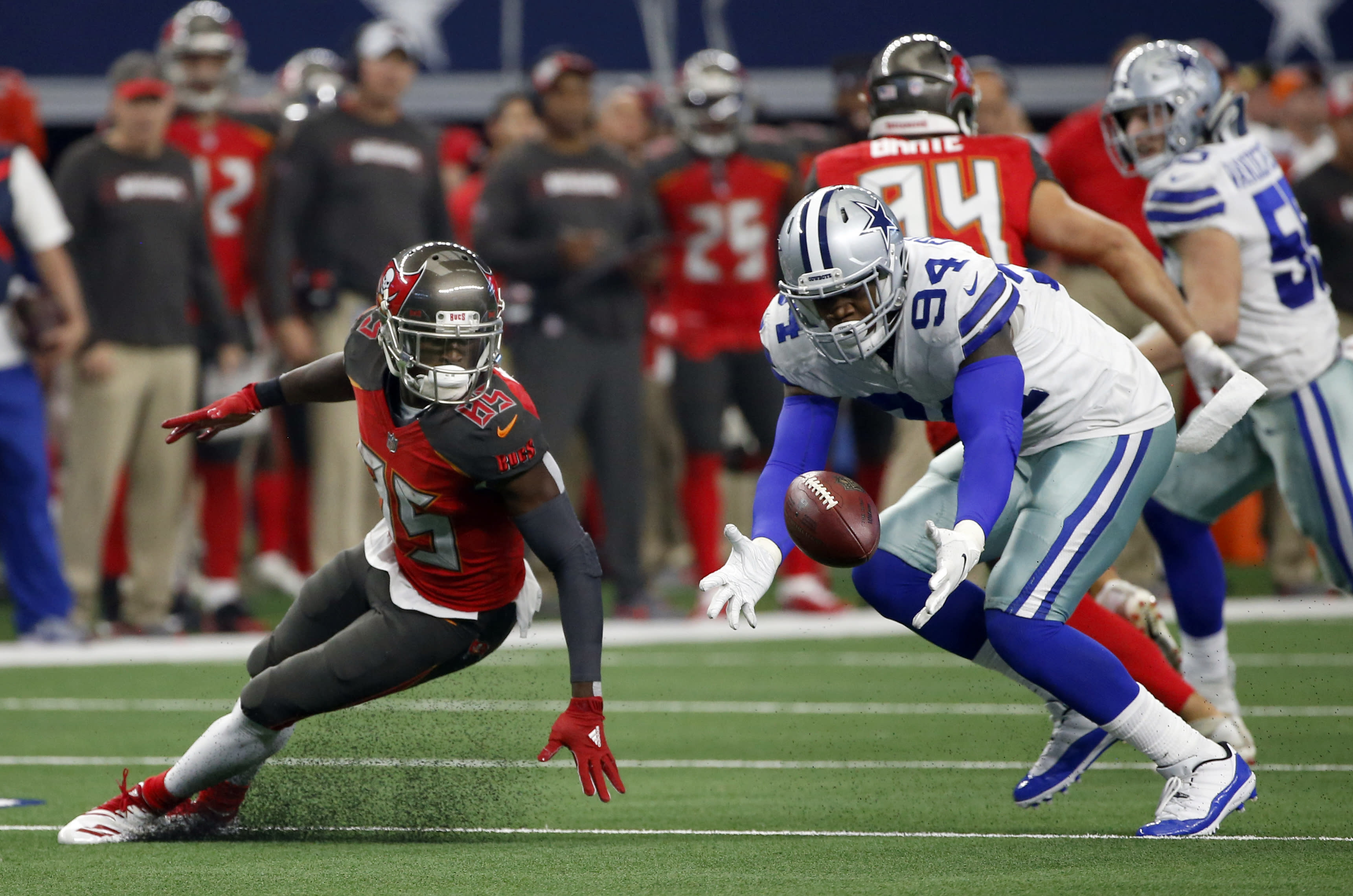 Cowboys Gregory Reinstated Football