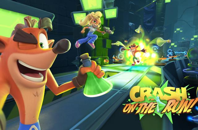Crash Bandicoot is landing on Android and iOS devices in spring 2021