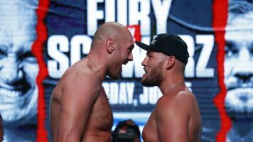 Fury can't get caught looking past Schwarz