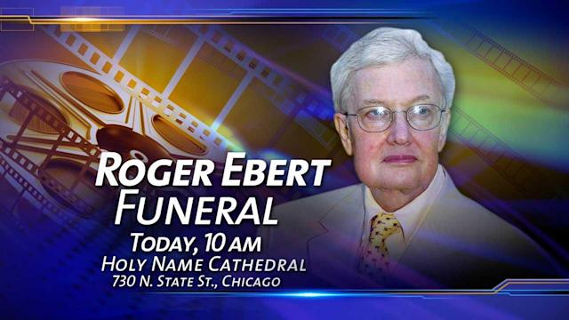 Roger Ebert funeral packs Holy Name with family, friends, and fans of film critic